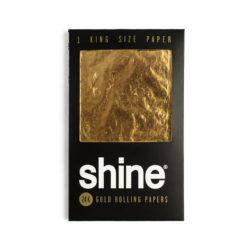 Shine 24K Gold King Size Paper